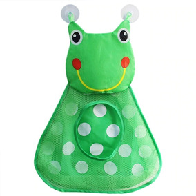 Porta Brinquedo De Banho Bebe Saco Organizador