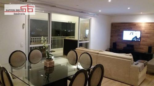 Apartamento Com 3 Dormitórios À Venda, 153 M² Por R$ 1.450.000,00 - Freguesia Do Ó - São Paulo/sp - Ap2813