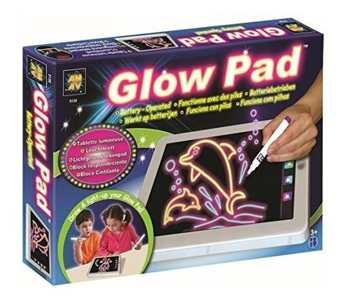 Amav Glow Pad - Tablero De Dibujo Portátil De Alta Tecnologí