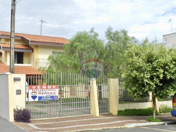 Sobrado Com 200 M² E Área Livre Para Salas Ou Salão Comercial No Jardim Nossa Senhora De Fátima Em Nova Odessa-sp - So0044