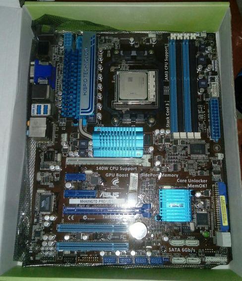 Kit Fx 4170 + Placa Mãe Asus M4a89gtd Pro/usb3 Fx + 16gb