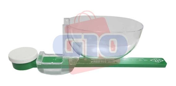 Mini Balança Plástica Até 125 Gramas # Original