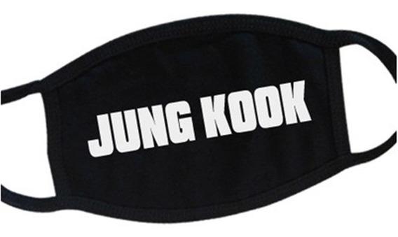 Cubrebocas Bts Jung Kook Kpop Coreano
