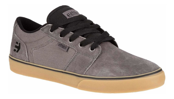 Tenis Etnies Shoes Barge Ls Grey Gum