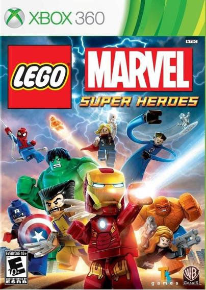 Lego Marvel Super Heroes Xbox 360 Mídia Física Lacrado