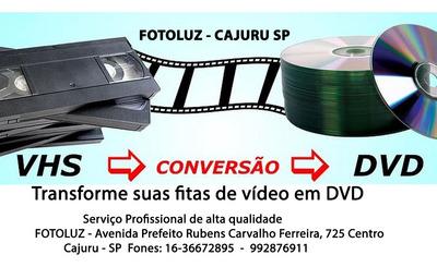 Conversão De Fitas Vhs Paras Dvd