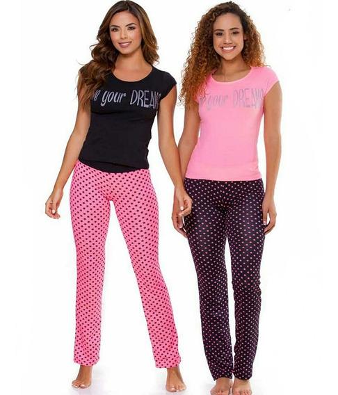 Pijama Deams Mujer Pepas Juvenil Multiuso Pantalón X1 Und