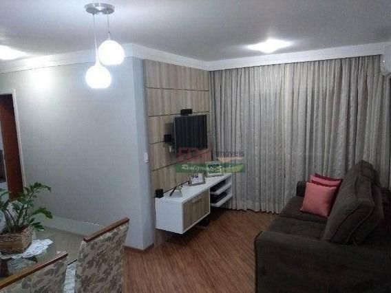 Apartamento Com 2 Dormitórios À Venda, 60 M² Por R$ 280.000 - Jardim Oriente - São José Dos Campos/sp - Ap4443