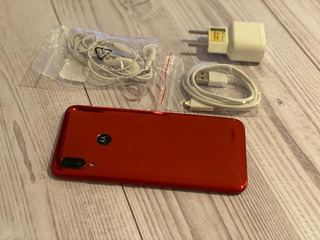 Celular Motorola Moto E6 Plus 32 Gigas Vermelho