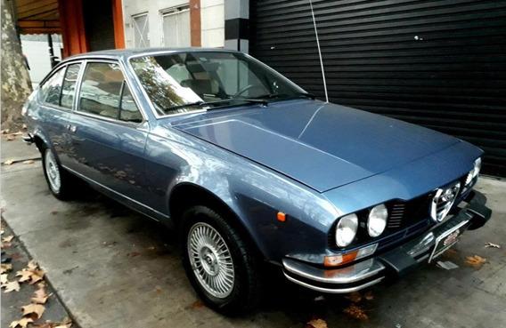 Alfa Romeo Alfetta Gt 1600 1979 Unica Por Estado !!!!!!