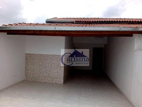 Cobertura Com 2 Dormitórios, 50 M² - Venda Por R$ 360.000,00 Ou Aluguel Por R$ 1.750,00/mês - Vila Lucinda - Santo André/sp - Co0182
