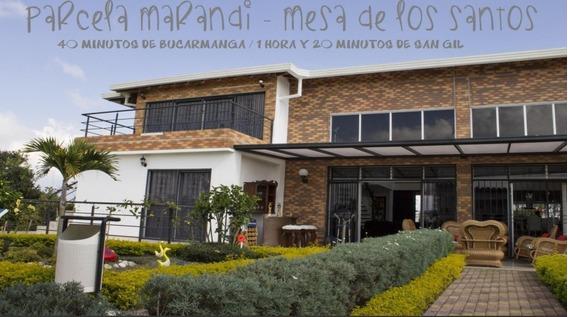 Hermos Parcela En La Mesa De Los Santos Marandi Vacacional
