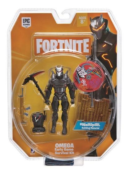 Fortnite Boneco Omega 10cm Com Acessórios - Sunny 2058