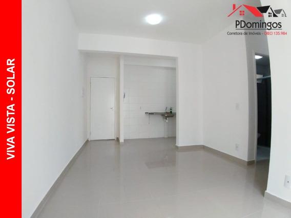 Apartamento Para Locação No Condomínio Residencial Viva Vista Solar, Em Nova Veneza - Sumaré - Sp!!! - Ap00263 - 33820840