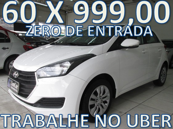 Hyundai Hb20 Confort Plus Zero De Entrada +60 X 999,00 Fixas
