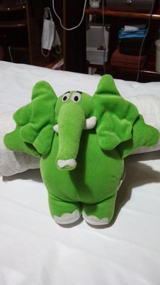 Bichinho De Pelucia De Coleção Elefante Da Monica