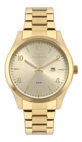 Relógio Technos Masculino Classic Steel Dourado 2115mrc/4x