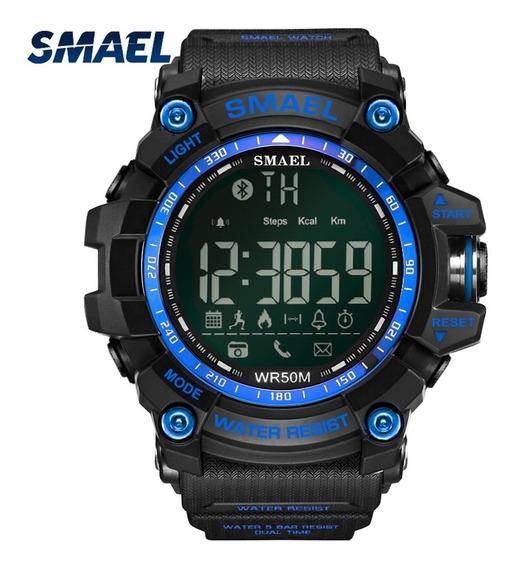 Relógio Esportivo Elegante Smael 1617