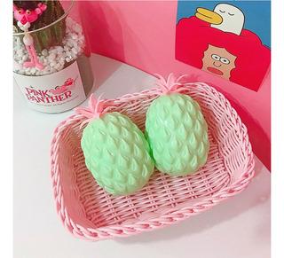 Pineapple Design Ball Squishy Gel Antiestrés Aliever Squeez