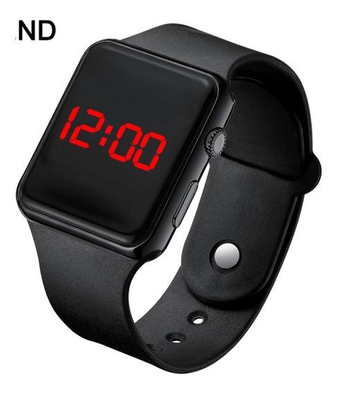 Relógio Digital Esportivo Bracelete Led Masculino Feminino