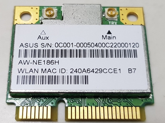 Placa Wireless Wi-fi Aw-ne186h Asus X451c (ml11)