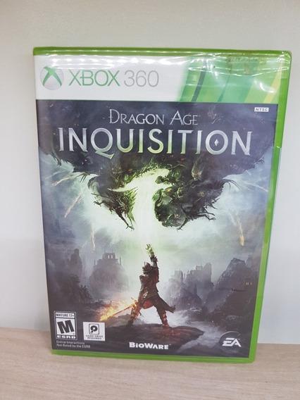 Dragon Age Inquisition Xbox 360 Novo Lacrado Mídia Física