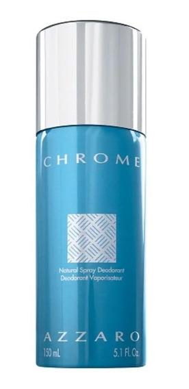 Spray Azzaro Chrome 150ml Original - Promoção