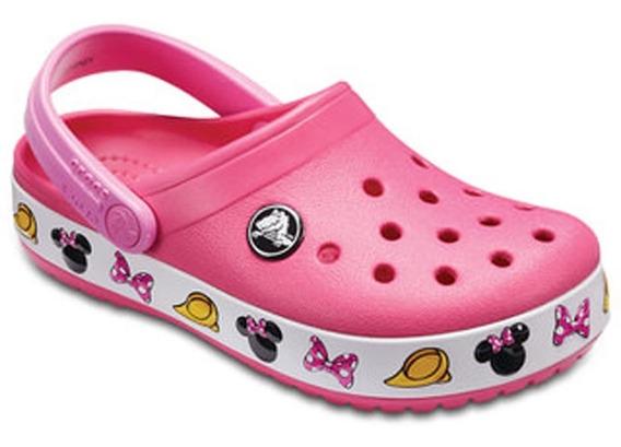 Zueco Crocs Crocband Minnie