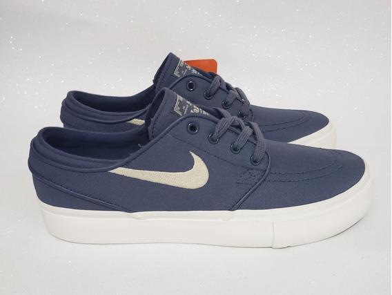 Nike Air Zoom Stefan Janoski Tenis Skate Azul Original