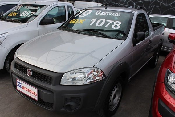 Fiat Strada Hard Working 1.4 Financiamento Sem Entrada Bom