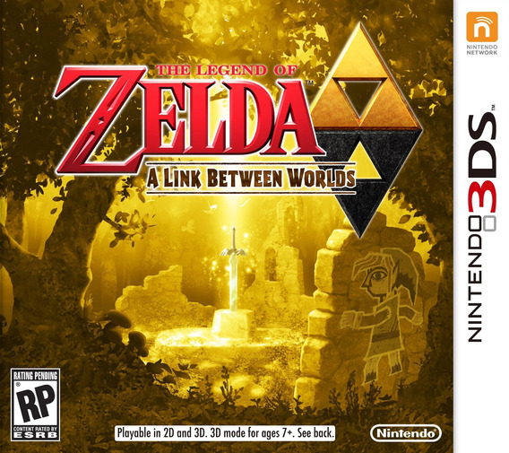 Nintendo 3ds - The Legend Of Zelda A Link Between Worlds