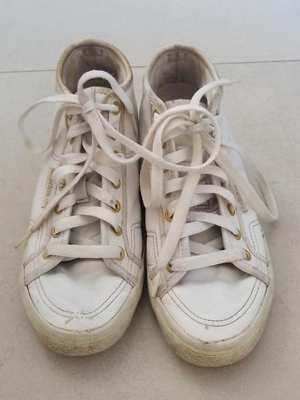 Zapatillas Botitas adidas Originals Blancas Mujer