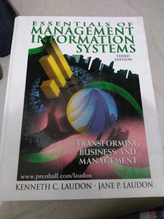Libro Essentials Of Management Information Systems 3ra Ed