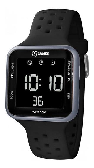 Relogio Digital Quadrado Xgames Esportivo Original A Prova Dagua Com Garantia De Fabrica E Nota Fiscal Xgppd091 Pxpx