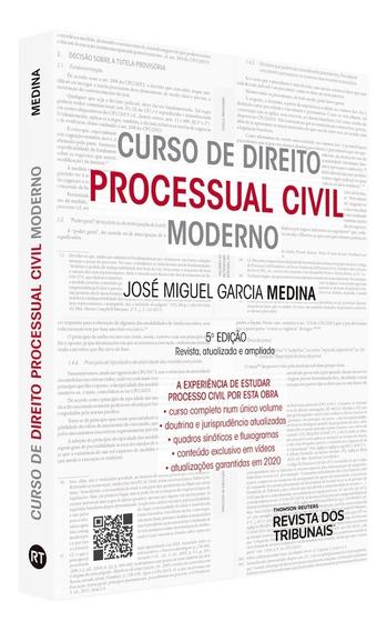 Curso De Direito Processual Civil Moderno - Medina 2020