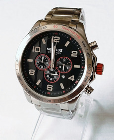 Relógio Masculino Séculus Prateado Original 20558gosvna1.