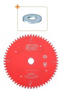 Disco De Serra 250mm 80d Mdf Lp67m002 + Redução 30x5/8(16mm)