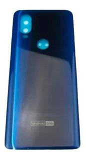 Tampa Traseira Motorola Moto One Vision Xt1970 Original Nova