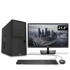 Computador Intel I7 7700 16gb 2tb Monitor Lg 21.5 3green