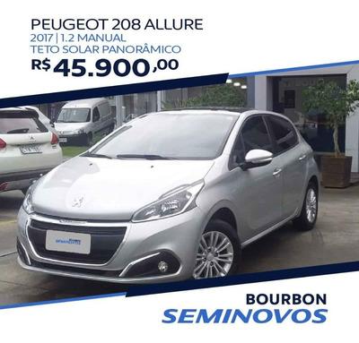 Peugeot 208 Allure 1.2 C/ Teto Panoramico