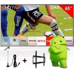 Daewoo Televisor Led 65¨smart Tv Uhd 4k Android 6.0 Netflix