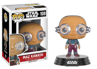 Funko Pop Maz Kanata 108 Star Wars Muñeco Original