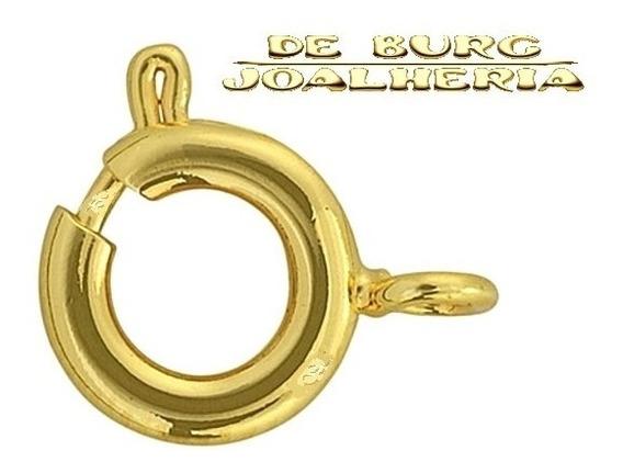 Fecho Boia Ouro 18k 750 Correntes 5mm (2 Peças) Novo