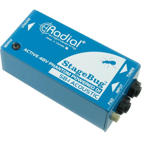 Radial Caja Directa Activa Acustica Sb-1 Phantom Power 12msi