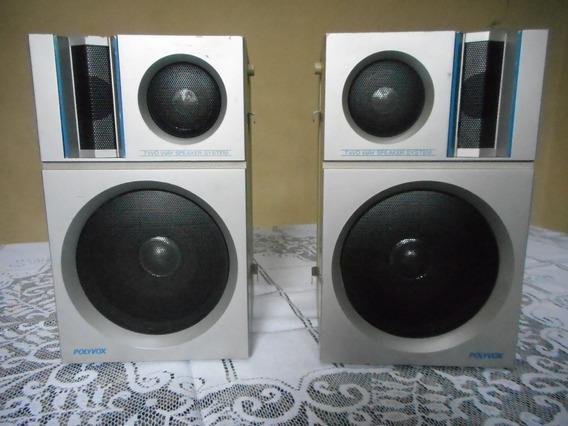 Caixas De Som Acústica Pa-850 Funcionando Antiga