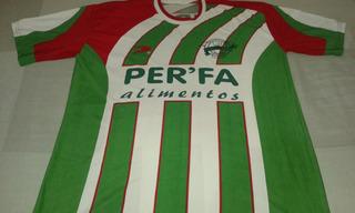 Camisa Futebol Cap Perobas - Contagem - Minas Gerais.