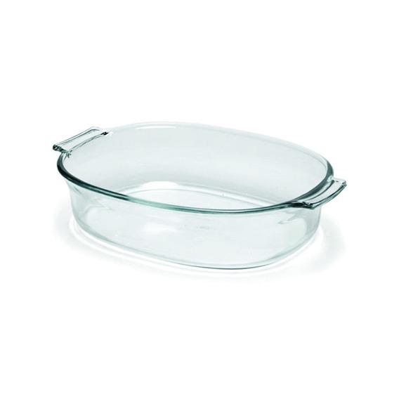 Fuente De Vidrio Resistente Pyrex Basics Ovalada 2 Litros