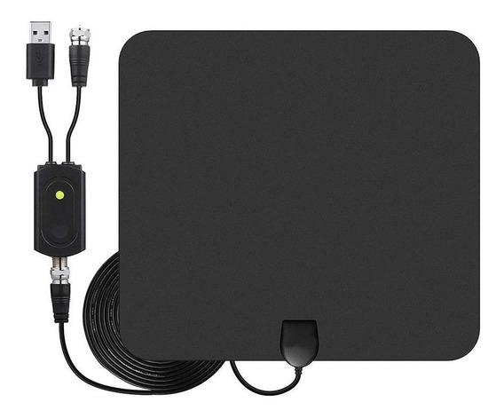 4k 1080p Antena De Tv Digital 450 Milhas Amplificador De Sin