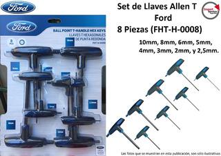 Set De Llaves Allen T Ford 8 Piezas (fht-h-0008)