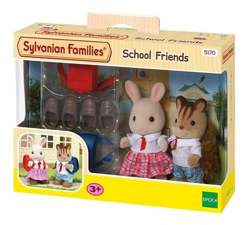 Imagen 1 de 5 de Sylvanian Families Amigos De La Escuela School Friends 5170